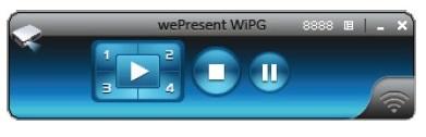 Окно программы ABTUS WiPG-1000