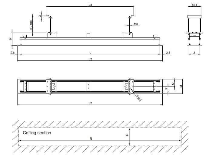 Размеры Installation Frame Pro