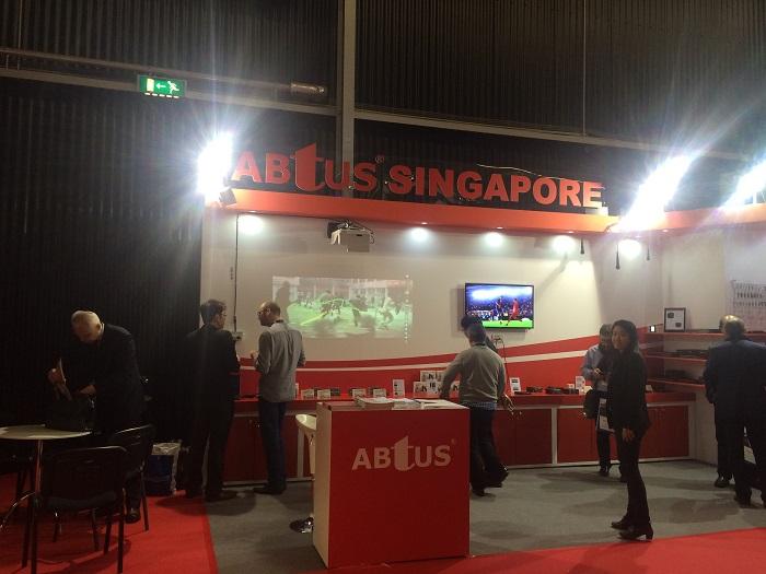 ABtUS на выставке ISE 2016