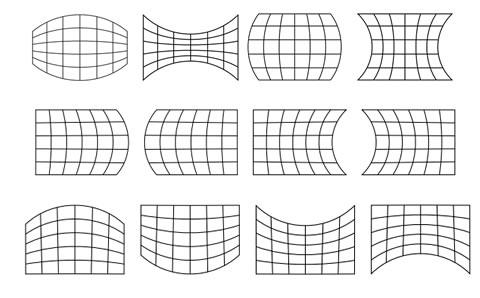 Коррекция геометрии изображения