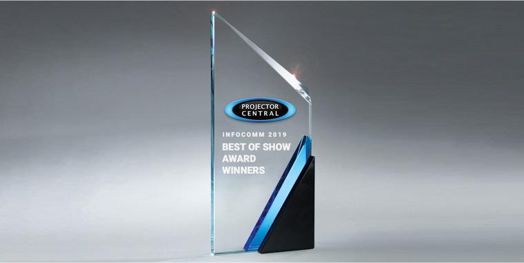 InfoComm 2019 Best of Show Award