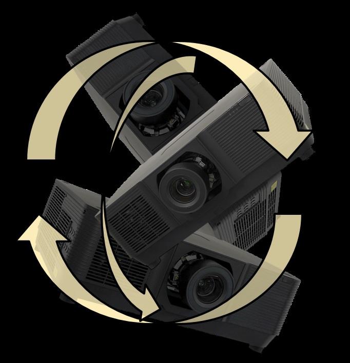 Возможности установки проектора EK-850UL